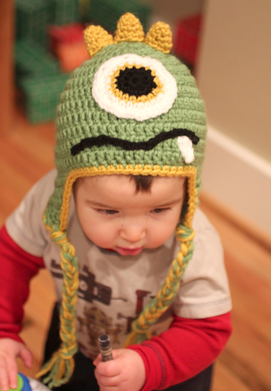 Crochet Monster Hats - Repeat Crafter Me