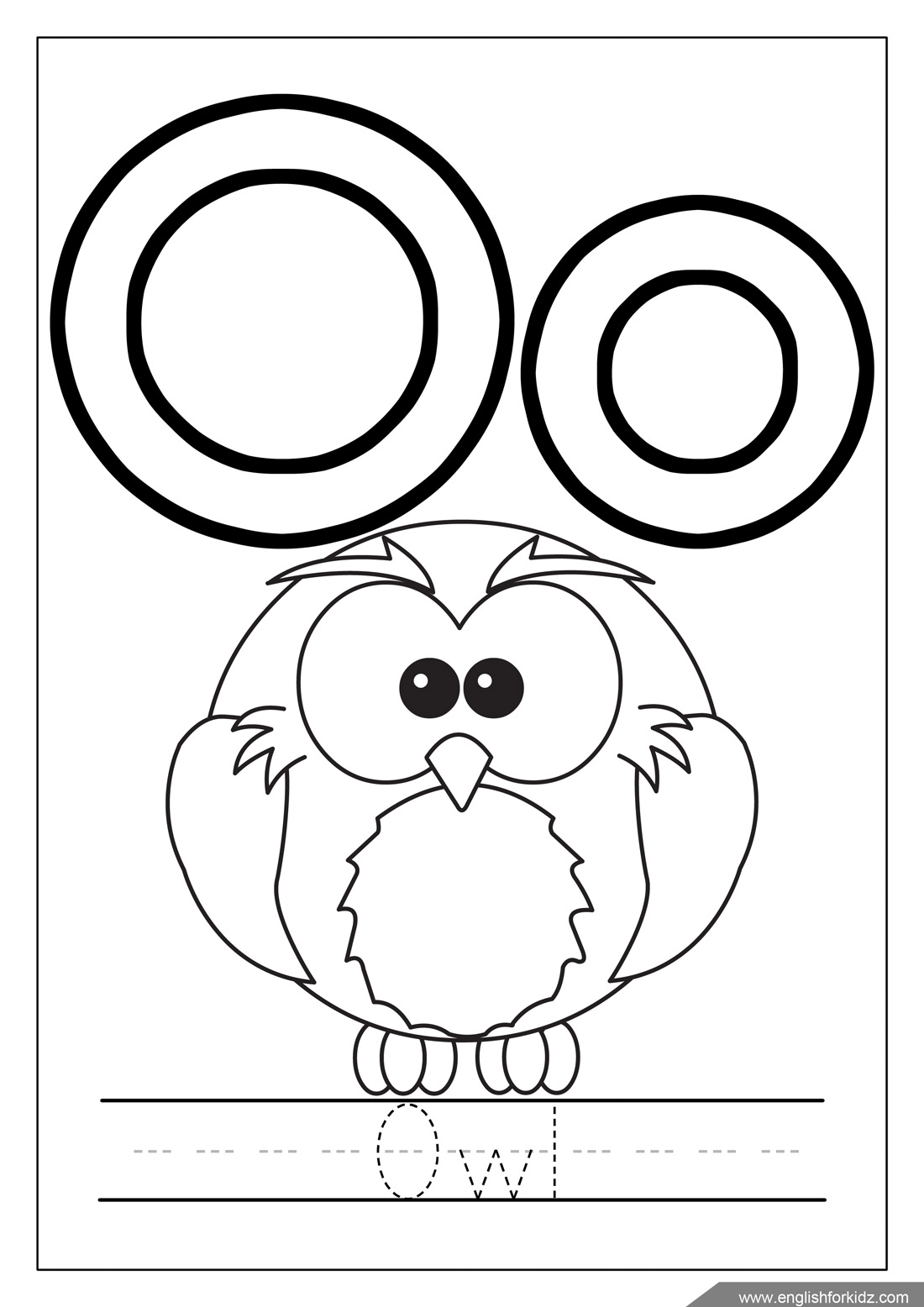 alphabet coloring pages letters one one thousand t