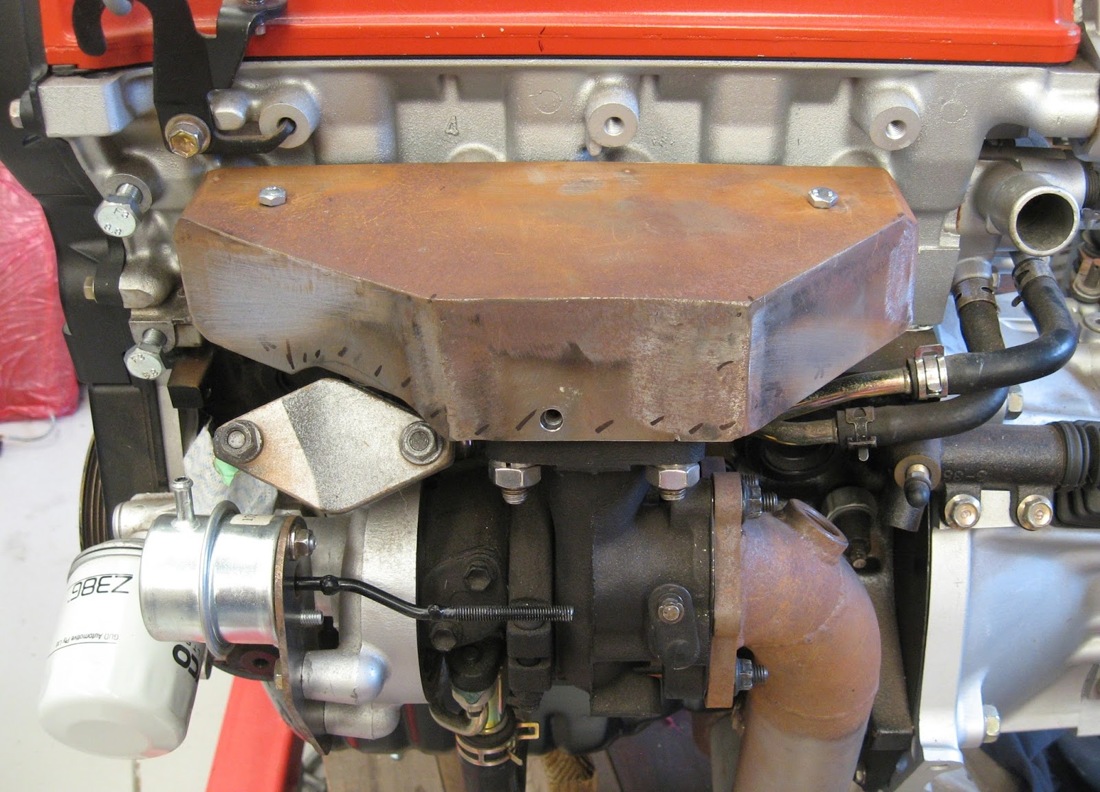 Heat Shields For Exhaust Manifold And Turbo