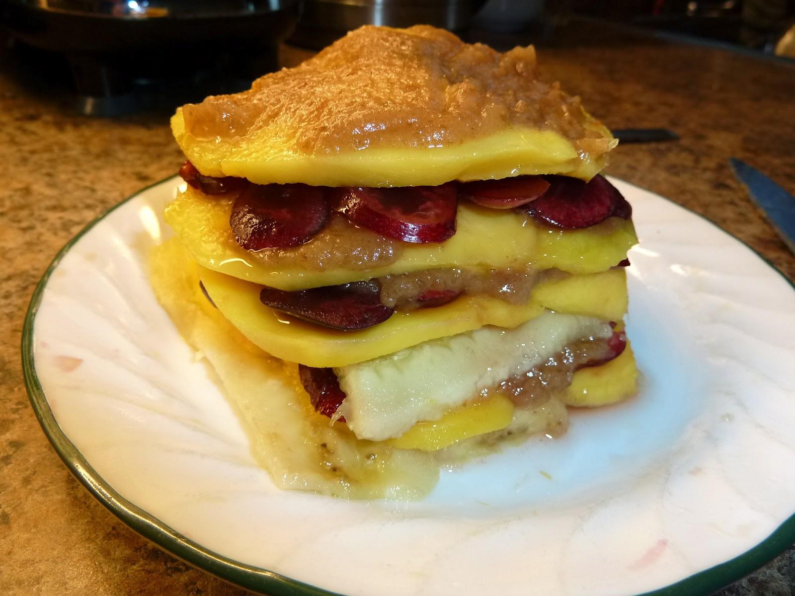 Low Fat Fruit Cake 120