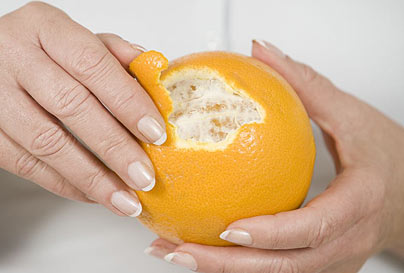 Not Buying Anything How To Simply Peel An Orange In 17 Seconds