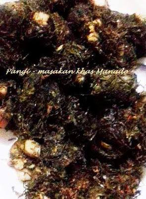 Cara memasak pangi sayuran khas Manado