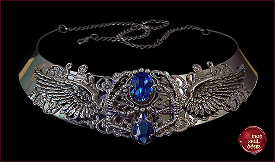 collier Poudlard Rowena Serredaigle Harry Potter Ravenclaw necklace Hogwarts