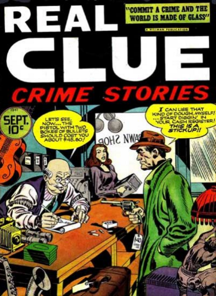 Simon-Kirby Real Clue Crime Stories