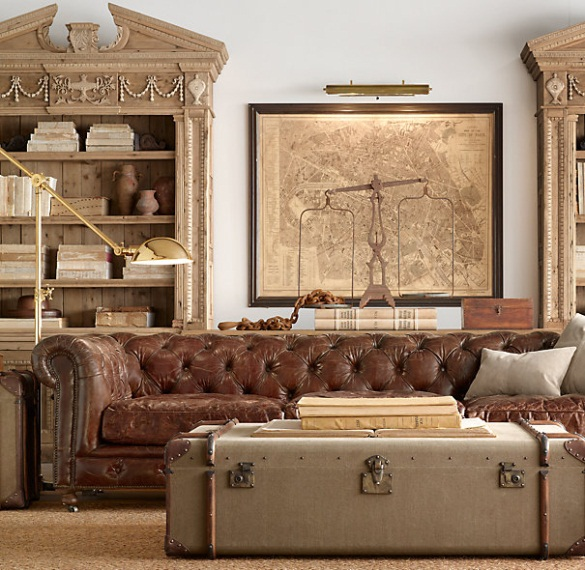 Eye For Design Decorate With The Chesterfield Sofa For Elegance And