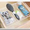 Bathroom drawer organizer trays