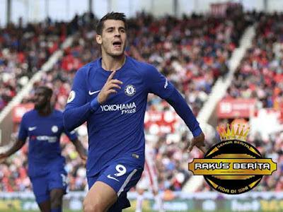 Morata Cetak Hat Trick Perdananya Untuk Chelsea