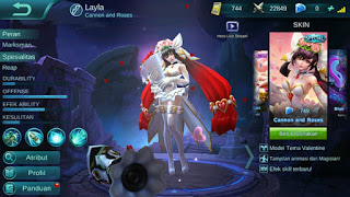 Tips Pakai Hero LaylaMobile Legends Agar Menang