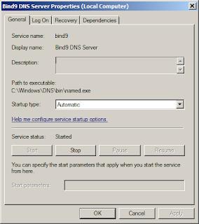 Bind9 DNS Server Service