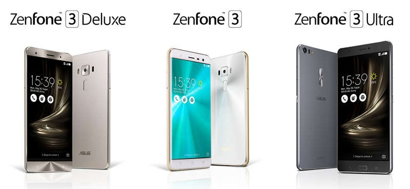 ASUS Zenfone 3 Deluxe and Ultra - Widget City