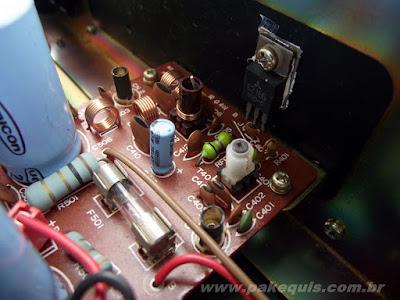 Super Fone CT3000N transistor de RF