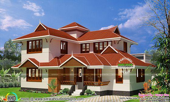 Kerala traditional home at Bengaluru