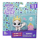 Littlest Pet Shop Series 1 Pet Pairs Viola Angora (#1-98) Pet