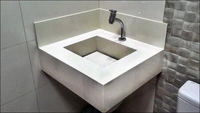 pia cuba de piso porcelanato