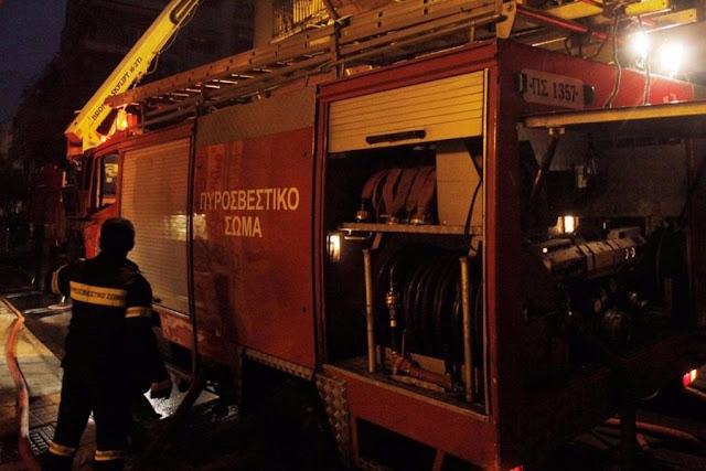 Αγία Βαρβάρα: Νεκρός 20χρονος από πυρκαγιά σε διαμέρισμα