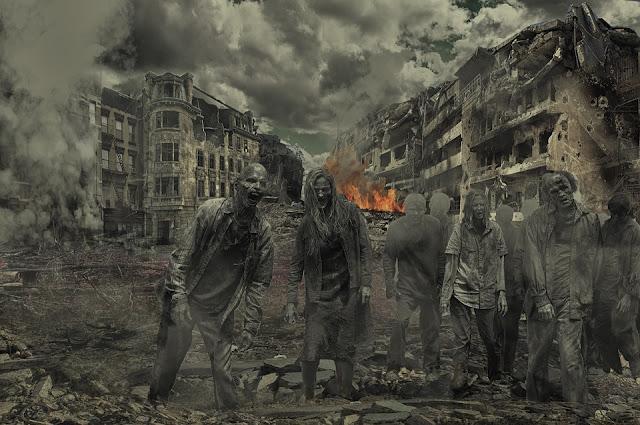 Image: Walking Dead Zombies, by Ahmadreza Heidaripoor on Pixabay