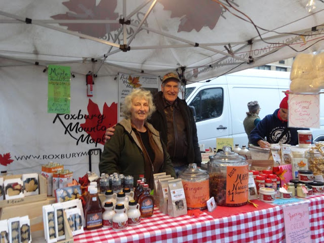 Roxbury Mountain Maple Syrup auf dem Union Square Green Market