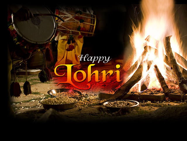 images of lohri