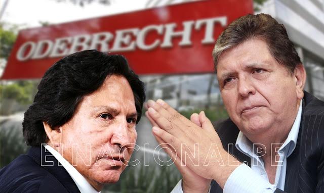 Odebrecht pagó coimas por US$ 45 millones en gobiernos de Alan García y Alejandro Toledo
