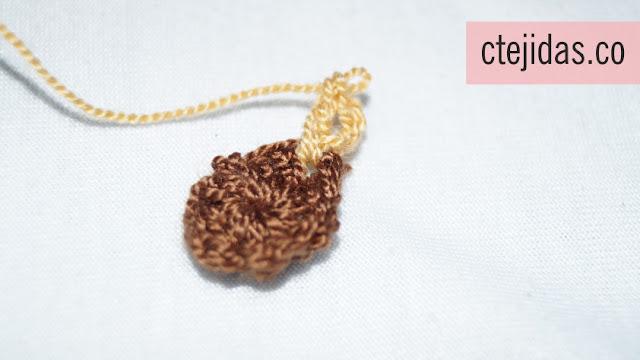 Flor Africana a Crochet - Paso a Paso