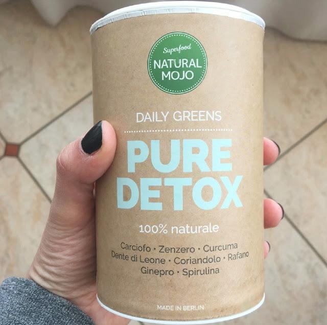 natural mojo recensione daily greens pure detox