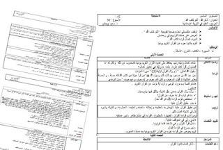 المستوى السادس:جذاذات المفيد في التربية الإسلامية -الدورة الثانية-