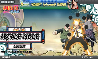 Naruto Senki apk Ultimate Ninja Storm 4 v4.0 Full version