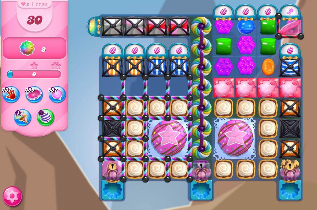Candy Crush Saga level 7754