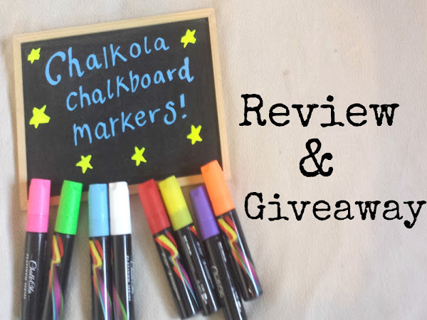 Chalkola Chalk Markers Review & GIVEAWAY