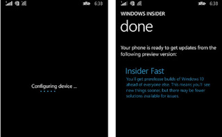 Cara Update Windows 10 for Phone Technical Preview