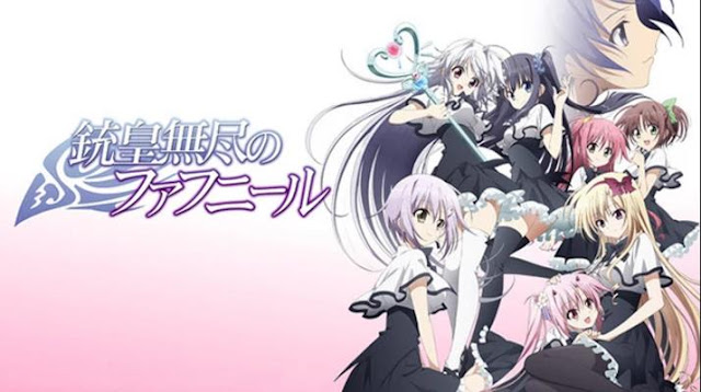 Anime Magic School Romance Terbaik - Juuou Mujin no Fafnir