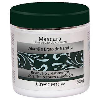 Máscara hidratação queda de cabelo alumã e broto de bambu 500 gramas