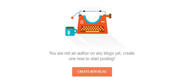 Create a free blog