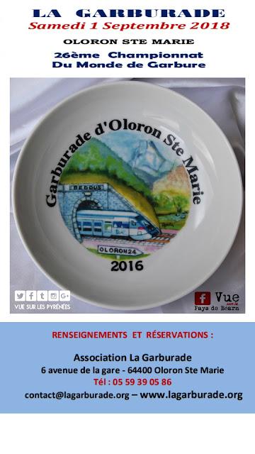 Garburade Oloron 2018 Championnat du monde de Garbure