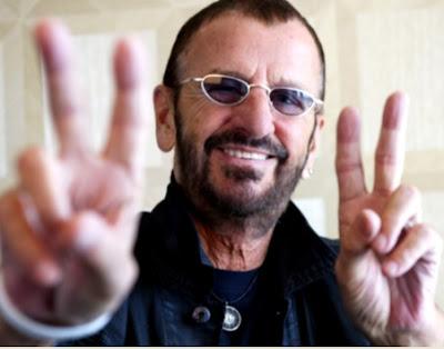 Foto de Ringo Starr en la vejez