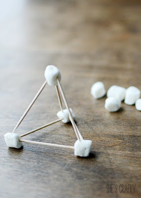 5 super fun Summer activities for kids and teens, marshmallow structures with toothpicks