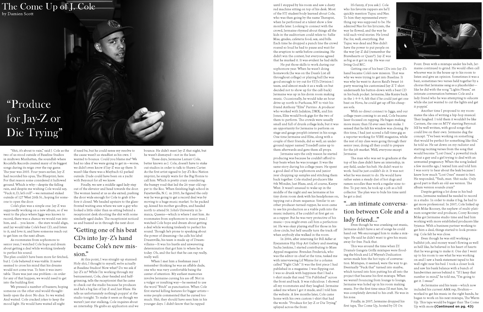 DStyles' Blog: Magazine 2 Page Spread