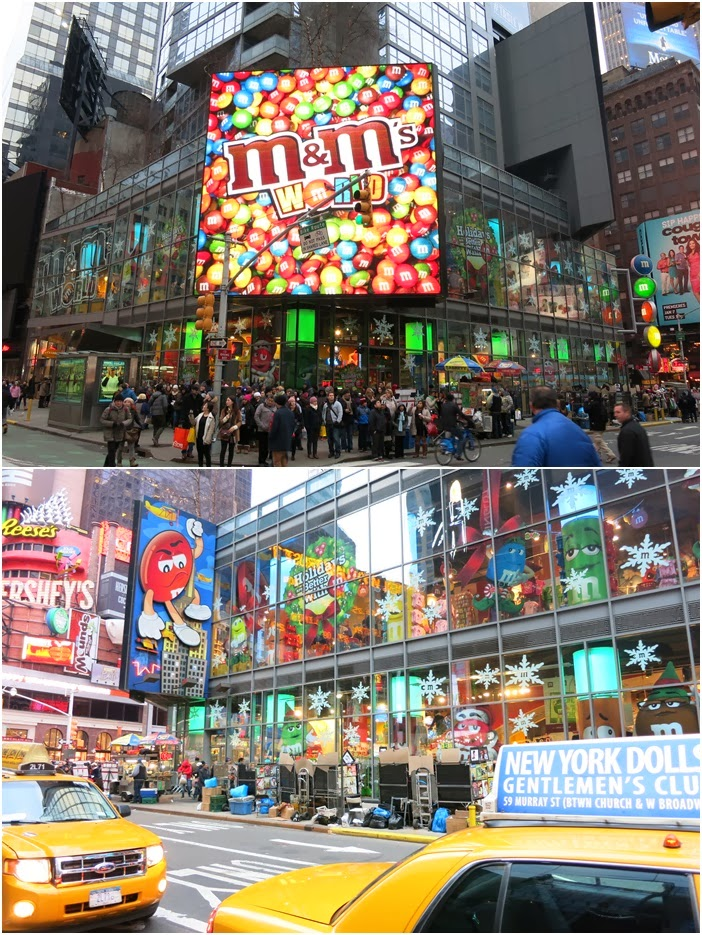 New York :: M&M World Times Square
