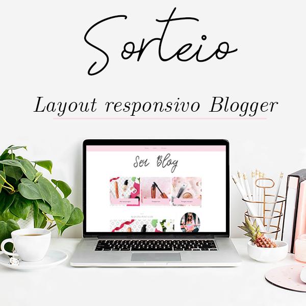 sorteio layout responsivo para blogger