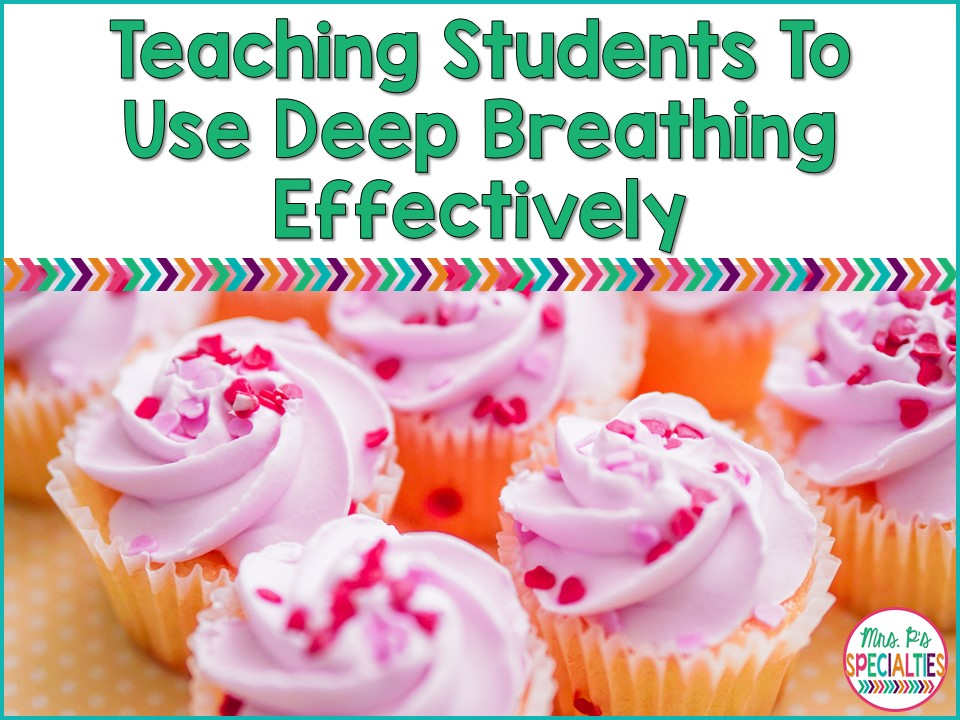 "Have you ever had a kiddo who looked like ""deep breathing"" was making him more anxious? Like he might hyperventilate  from trying to so hard to take deep breaths? Yeah... not so calming!! I have a great solution for you!!"