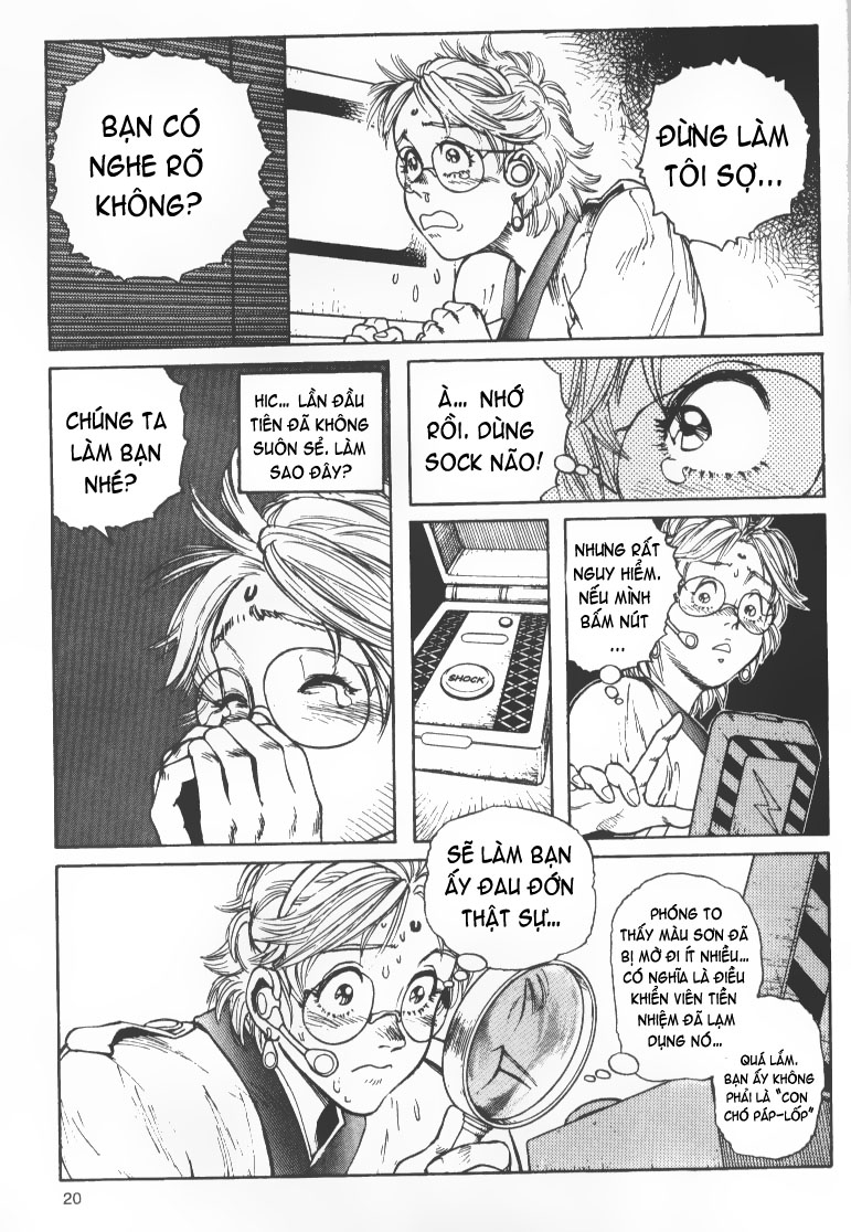 Battle Angel Alita chapter 36 trang 15