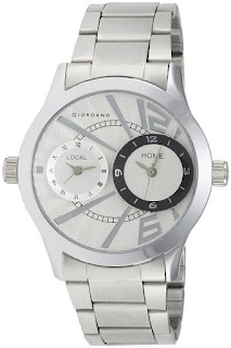 Giordano Analog White Dial Mens Watch