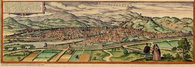 La ciudad de Florencia en la Edad Media y economia