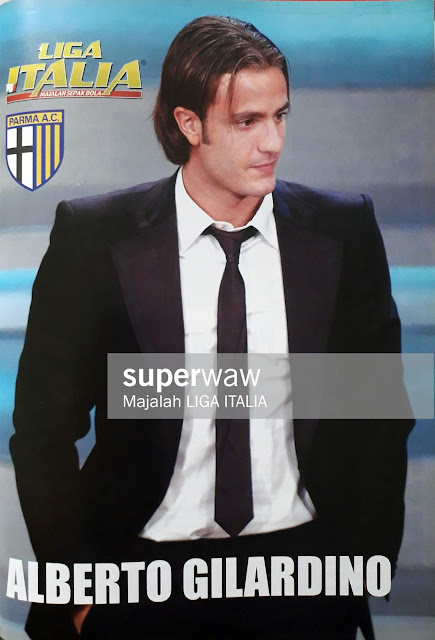 PIN UP ALBERTO GILARDINO (AC PARMA)