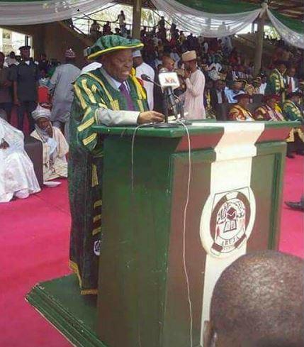 Pastor Kumuyi Bags Phd Honourary From University Of Abuja.