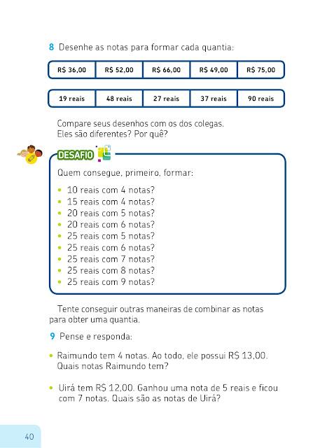 sistema monetario brasileiro matematica ensino fundamental