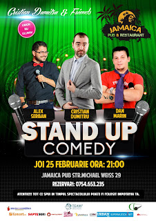 Stand-Up Comedy Joi 25 Februarie Brasov