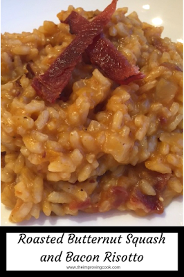 Roasted Butternut Squash and Bacon Risotto