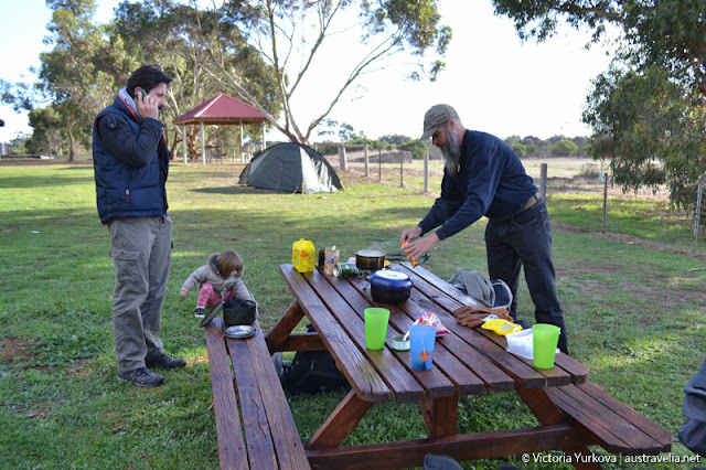 How to book accommodation from campground