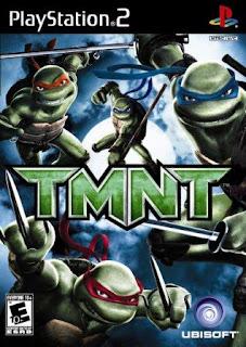 Teenage Mutant Ninja Turtles - TMNT (PS2) 2007